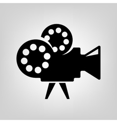 Cinema icon vector
