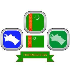 Symbol of turkmenistan vector