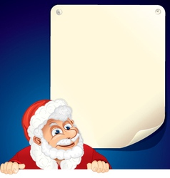 Santa background vector