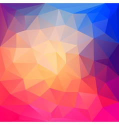 Abstract geometric background and place for text vector
