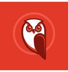 Owl emblem vector