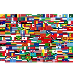 All flags of all countries in one vector