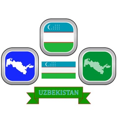 Symbol of uzbekistan vector