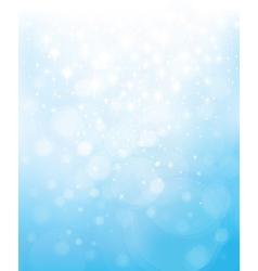 Blue star background vector