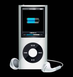 Mp3 player vector