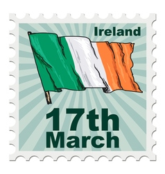 National day of ireland vector