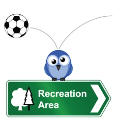 Recreation sign vector