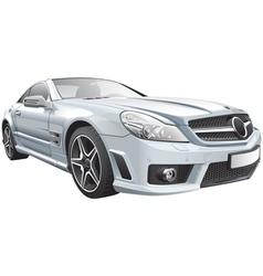 European luxury roadster vector