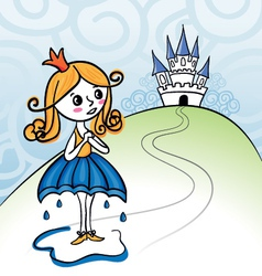 Rainkids - princess vector