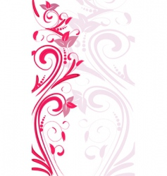 Ornament vertical vector