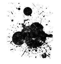 Grunge splat vector