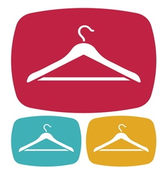 Hanger icon vector