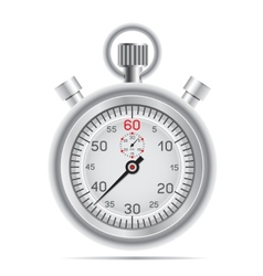 Retro stopwatch vector