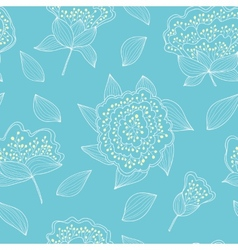 Tender and graceful seamless pattern with hand vector