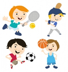 Sport cartoon vector