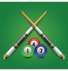 Billiard icon vector