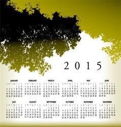2015 cal tree landscape vector