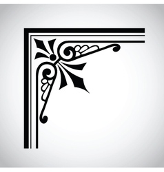 Decorative vintage design element 3 vector
