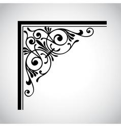 Decorative vintage design element 4 vector