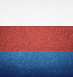 Grunge flag of russia vector