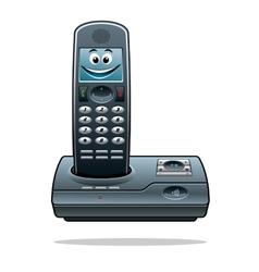 Cordless telephone vector