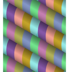 3d striped seamless pattern vector