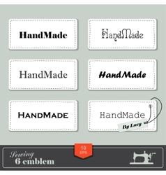 Handmade vector