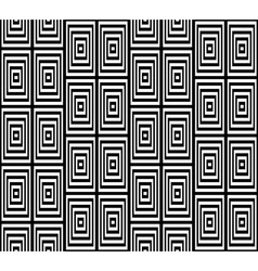 Abstract square bases black and white seamless vector