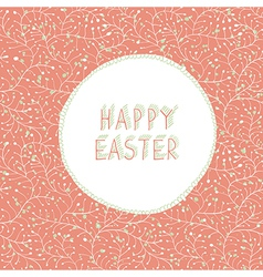 Easter card greeting vector