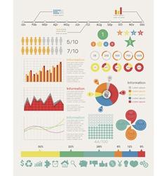 Infographic elements vector