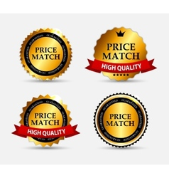 Price match label set vector