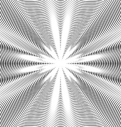 Abstract lined background optical style chaotic vector