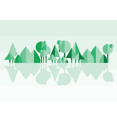 Forest green vector
