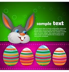 Easter festival vector