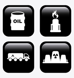 Gas industry design vector