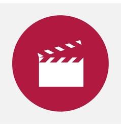 Movie slapstick vector