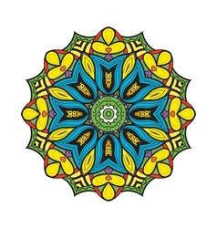 Bellflower mandala vector