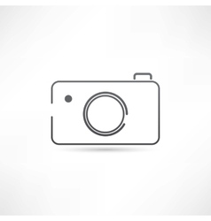 Simple camera icon vector