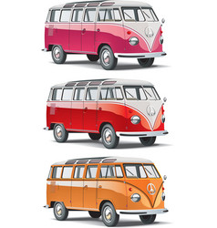 Mini-bus set vector