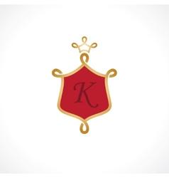 Emblem shield vector