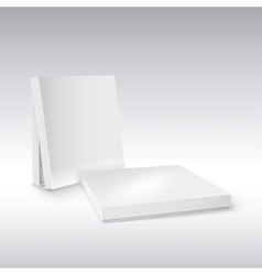 Box on white ready for your design vector