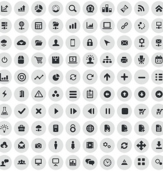 100 development soft icons vector