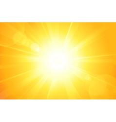 Bright sun vector
