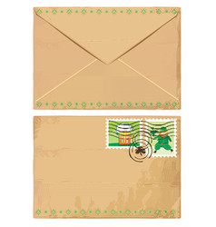 St. patrick's day letter vector