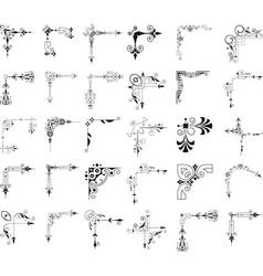 Corner elements vector