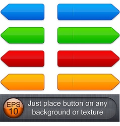 High-detailed modern buttons vector