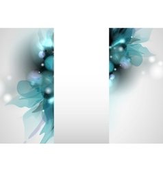 Spring and summer floral background vector
