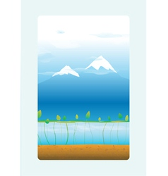 Mountain two vector