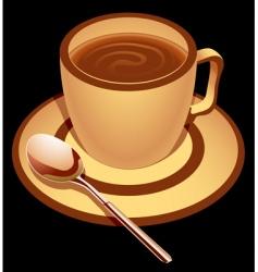 Chocolate drink vector
