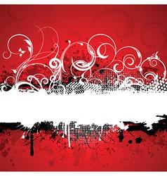 Decorative grunge background vector
